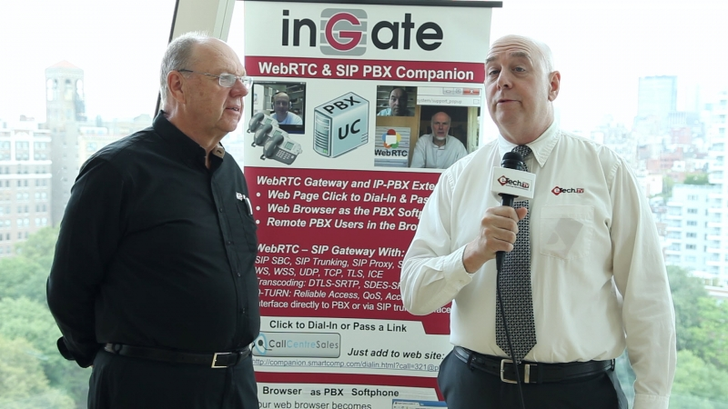 In this special eTechTV for business segment, we talked with Steve Johnson, President of InGate Systems about disruptive technologies in the world of Voice over IP, Web RTC and Sip Trunking