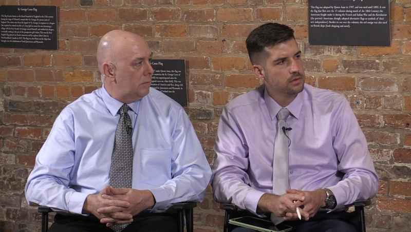 Rich Garboski & Tim Reid From eTechTV  Discuss the history of the 60 Hudson Street Data Center in New York City